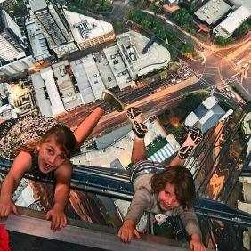 dangling kids