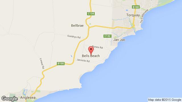 Bells Beach en mobile map 2 – The Wilsons of Oz – Expat Life Down
