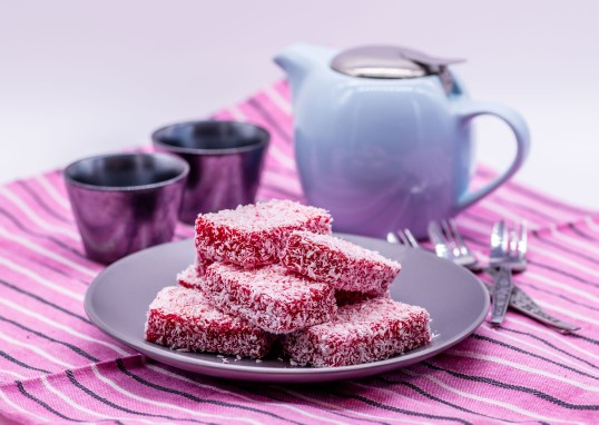 Raspberry Lamingtons copy