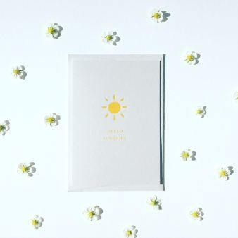 ELLY VVALLER_Greetings_Card_Hello_Sunshine